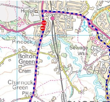 A49 Closure March 17
